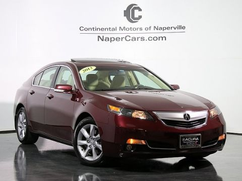 Used Acura TL w/Technology Package