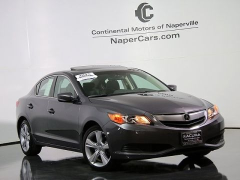Certified Used Acura ILX 5-Speed Automatic