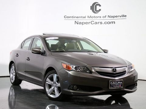 Certified Used Acura ILX 5-Speed Automatic with Premium Package