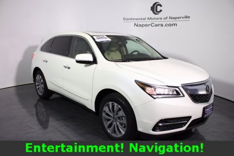 Certified Used Acura MDX SH-AWD with Tech., Ent. and AcuraWatch Plus Packages
