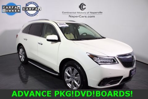 Certified Used Acura MDX SH-AWD with Advance and Entertainment Packages