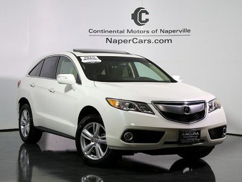 Certified Used Acura RDX AWD with Technology Package