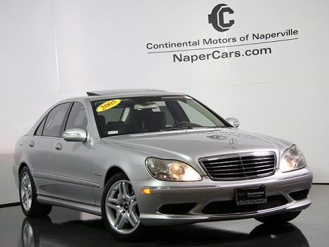 Used Mercedes-Benz S-Class S55 AMG®