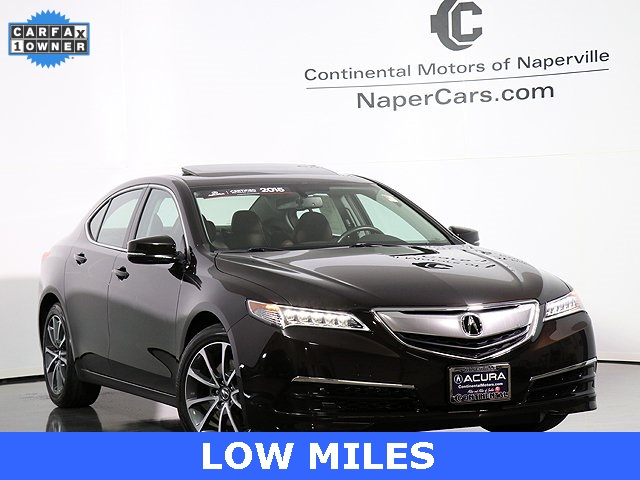 Certified Pre Owned 2015 Acura Tlx 3 5 V 6 9 At P Aws 4d
