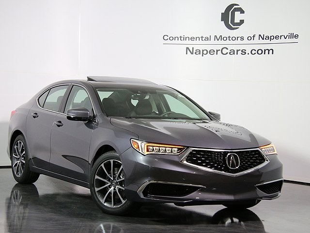 Pre Owned 2018 Acura Tlx 4d Sedan In Naperville J003