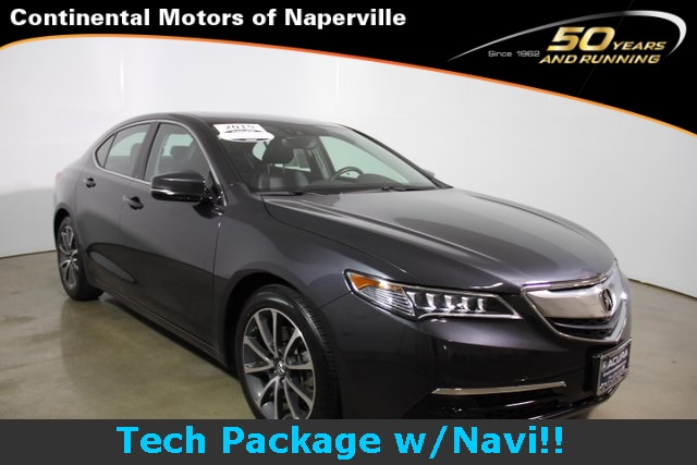 certified pre owned 2015 acura tlx 3 5 v 6 9 at p aws with technology package 4d sedan in. Black Bedroom Furniture Sets. Home Design Ideas