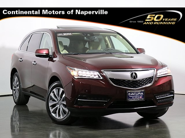 2016 Acura Mdx For Sale >> Certified Pre Owned 2016 Acura Mdx Sh Awd With Technology Package