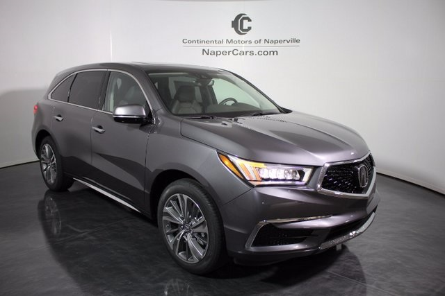 new 2017 acura mdx sh awd with technology package 4d sport utility in naperville h413. Black Bedroom Furniture Sets. Home Design Ideas