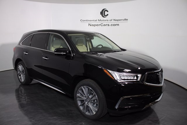 pre owned 2017 acura mdx w technology package 4d sport utility in naperville h581 continental. Black Bedroom Furniture Sets. Home Design Ideas