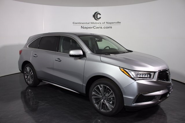 certified pre owned 2017 acura mdx sh awd with technology package 4d sport utility in naperville. Black Bedroom Furniture Sets. Home Design Ideas