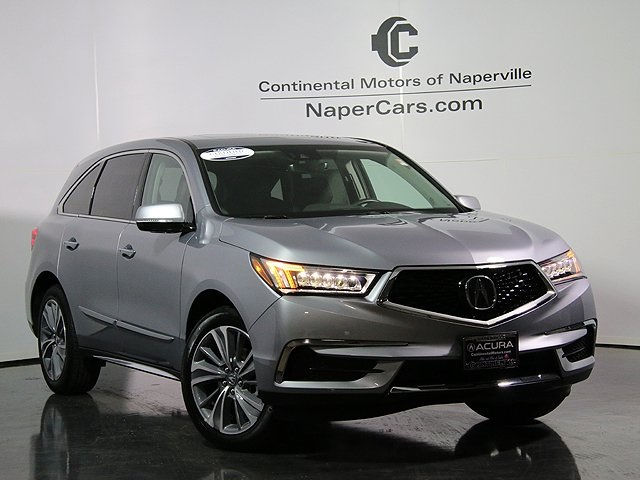 pre owned 2017 acura mdx sh awd w technology package 4d sport utility in naperville l2094. Black Bedroom Furniture Sets. Home Design Ideas