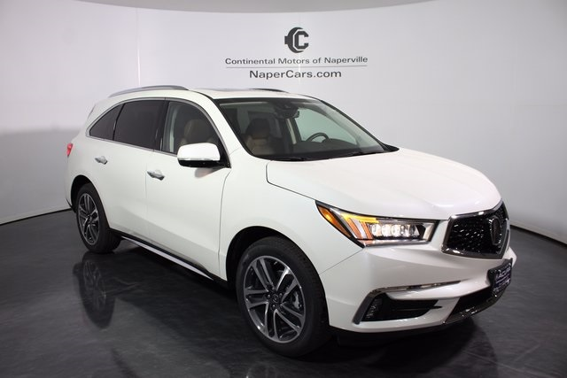new 2017 acura mdx sh awd with advance package 4d sport utility in naperville h663. Black Bedroom Furniture Sets. Home Design Ideas