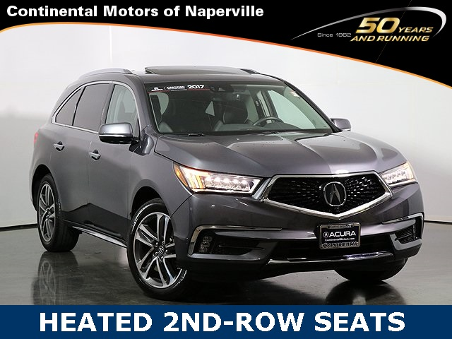 Pre Owned 2017 Acura Mdx Advance Package
