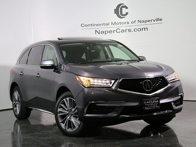 New Acura MDX SHAWD With Technology Package D Sport Utility - Www acura mdx 2018