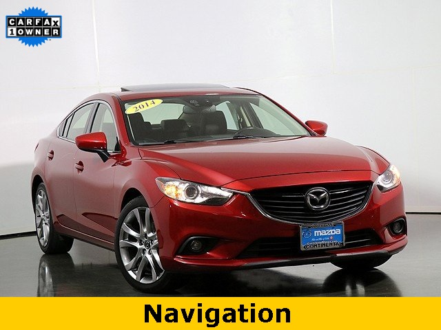 Pre-Owned 2014 Mazda6 i Grand Touring W/Heated Seats