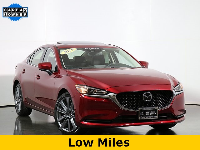 Pre-Owned 2019 Mazda6 Grand Touring W/Moonroof