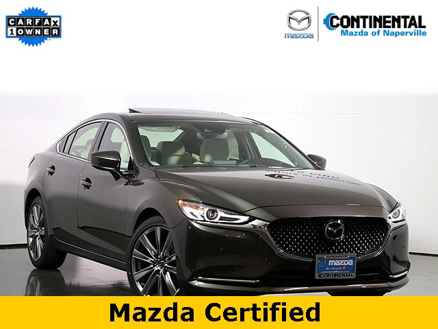 Pre-Owned 2018 Mazda6 Signature W/Nappa Leather Interior