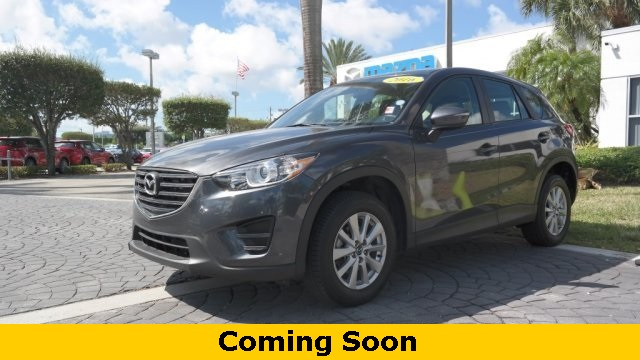 Pre-Owned 2016 Mazda CX-5 Touring W/Moonroof