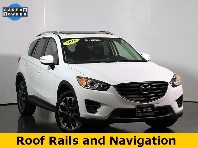 Pre-Owned 2016 Mazda CX-5 Grand Touring W/Roof Rails