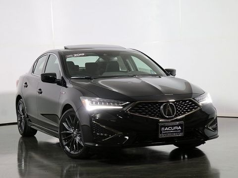 Certified Pre-Owned 2019 Acura ILX with Premium and A-Spec Packages