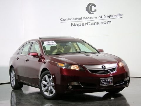 Certified Pre-Owned 2013 Acura TL
