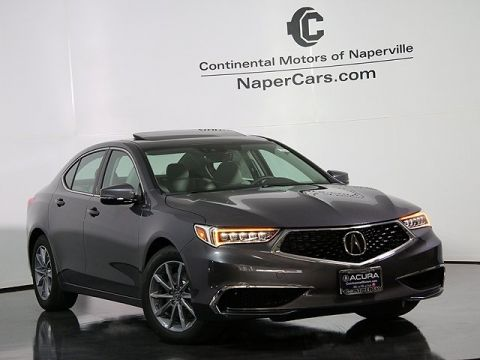 New 2018 Acura TLX 2.4 8-DCT P-AWS with Technology Package FWD 4D Sedan