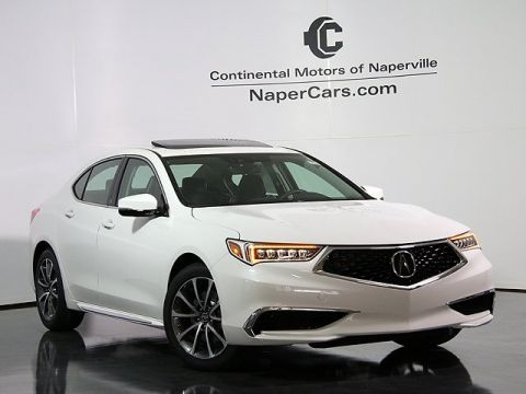 Pre-Owned 2018 Acura TLX w/Technology Package FWD 4D Sedan