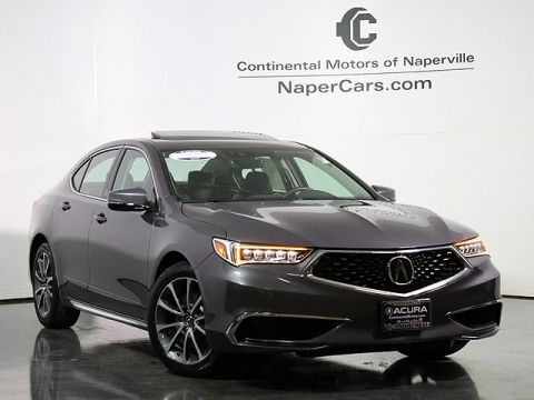 Certified Pre-Owned 2018 Acura TLX 3.5 V-6 9-AT P-AWS with Technology Package FWD 4D Sedan