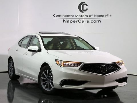 New 2018 Acura TLX 3.5 V-6 9-AT P-AWS with Technology Package FWD 4D Sedan