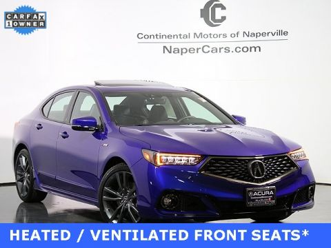 Certified Pre-Owned 2018 Acura TLX 3.5 V-6 9-AT P-AWS with A-SPEC FWD 4D Sedan