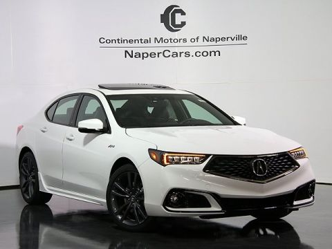 New 2018 Acura TLX 3.5 V-6 9-AT P-AWS with A-SPEC FWD 4D Sedan