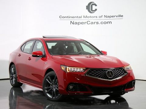 New 2018 Acura TLX 3.5 V-6 9-AT P-AWS with A-SPEC