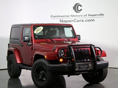 Pre-Owned 2012 Jeep Wrangler