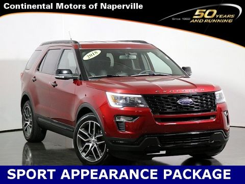 Pre-Owned 2018 Ford Explorer
