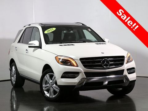 Pre-Owned 2015 Mercedes-Benz M-Class BlueTEC®