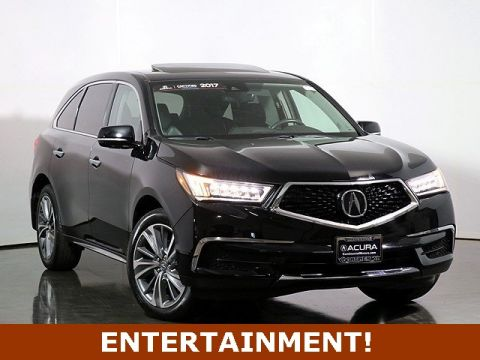 Certified Pre-Owned 2017 Acura MDX SH-AWD with Technology and Entertainment Packages