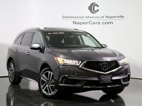 Pre-Owned 2017 Acura MDX w/Advance Package