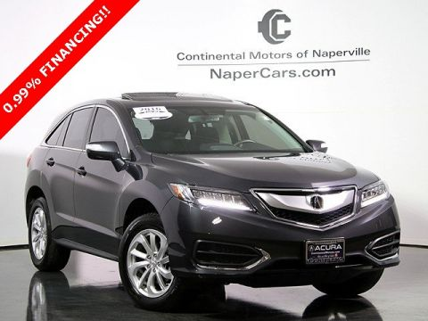 Certified Pre-Owned 2016 Acura RDX AWD w/Technology Package