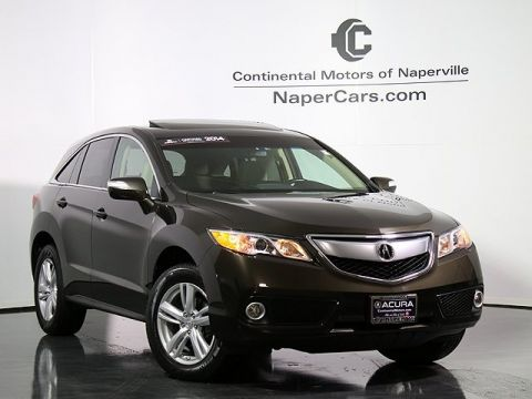 Certified Pre-Owned 2014 Acura RDX AWD with Technology Package