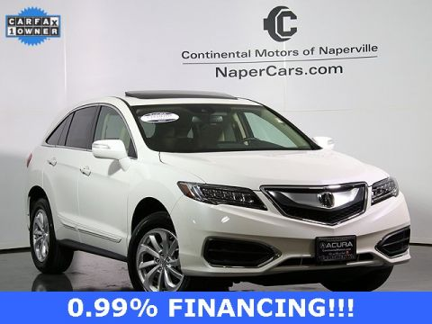 Certified Pre-Owned 2018 Acura RDX AWD with Technology and AcuraWatch Plus Packages