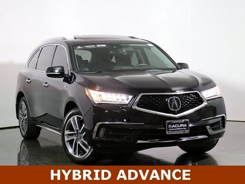 Certified Pre-Owned 2018 Acura MDX Sport Hybrid Sport Hybrid SH-AWD with Advance Package