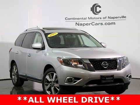 Pre-Owned 2015 Nissan Pathfinder Platinum 4WD