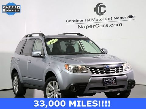 Pre-Owned 2012 Subaru Forester Limited