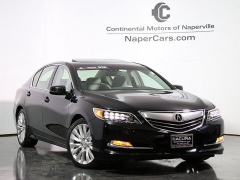 Certified Pre-Owned 2015 Acura RLX with Technology Package