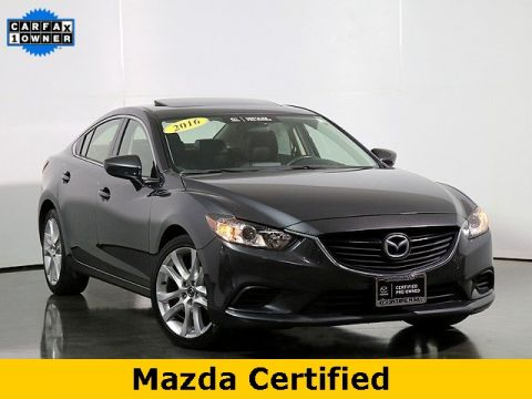 Pre-Owned 2016 Mazda6 i Touring W/Moonroof