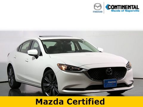 Pre-Owned 2018 Mazda6 Grand Touring W/Navigation