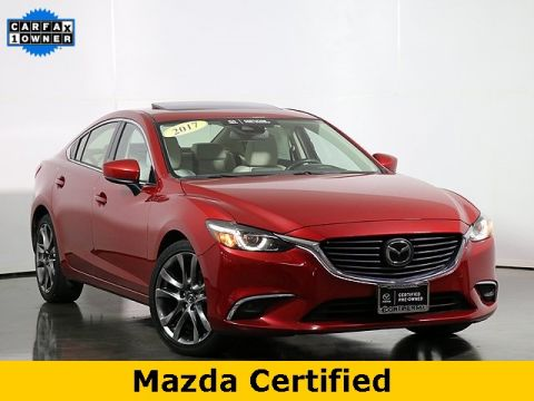 Pre-Owned 2017 Mazda6 Grand Touring W/Navigation