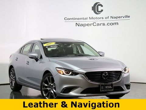 Pre-Owned 2017 Mazda6 Grand Touring FWD 4D Sedan