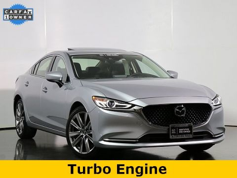 Pre-Owned 2018 Mazda6 Grand Touring Reserve W/Turbo