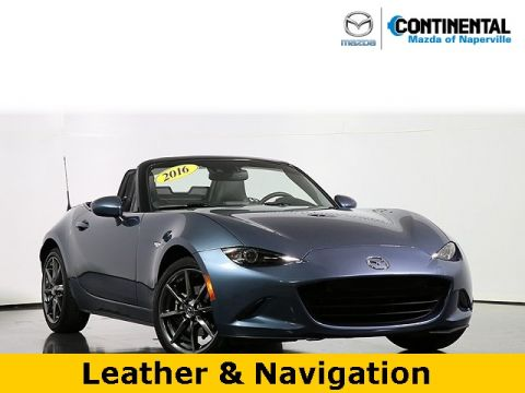 Pre-Owned 2016 Mazda MX-5 Miata Grand Touring Leather